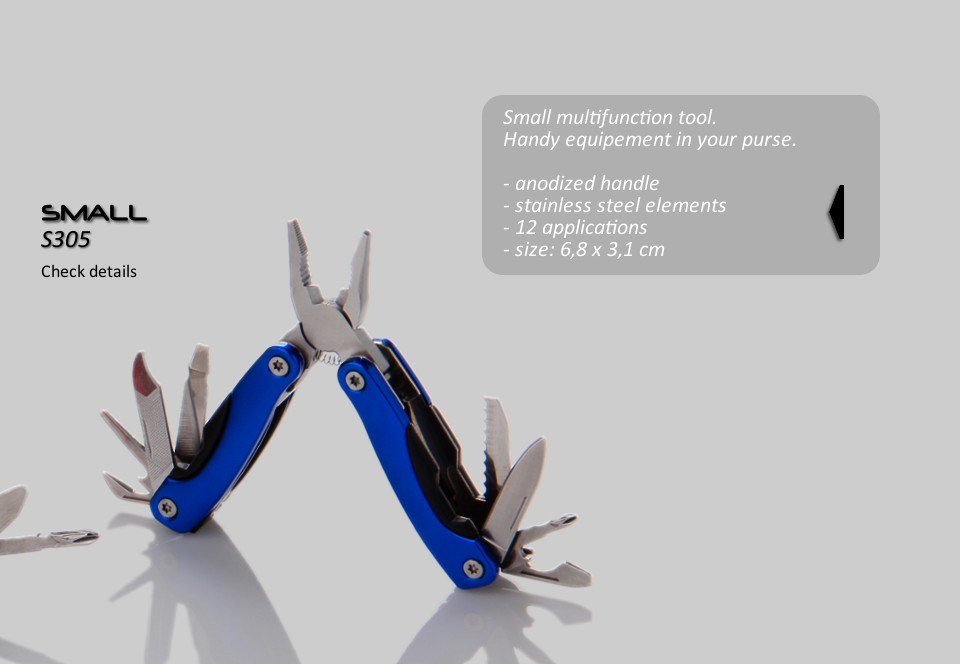 B305 SMALL MULTITOOL